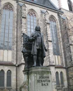 Bach at Thomaskirche